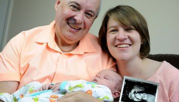 Couple With 26-Year Age Gap Celebrate Birth Of 'Miracle' Baby After Three Rounds Of IVF