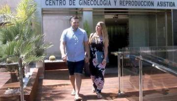 IVF Spain update Fertility Road on the progress of Kathryn & Richard's fertility journey