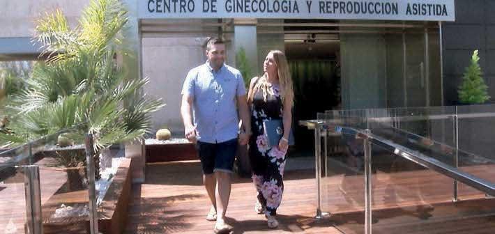 IVF Spain update Fertility Road on the progress of Kathryn & Richard's fertility journey