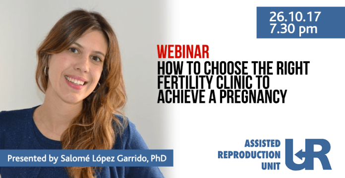 How to choose the right fertility clinic to achieve a pregnancy webinar