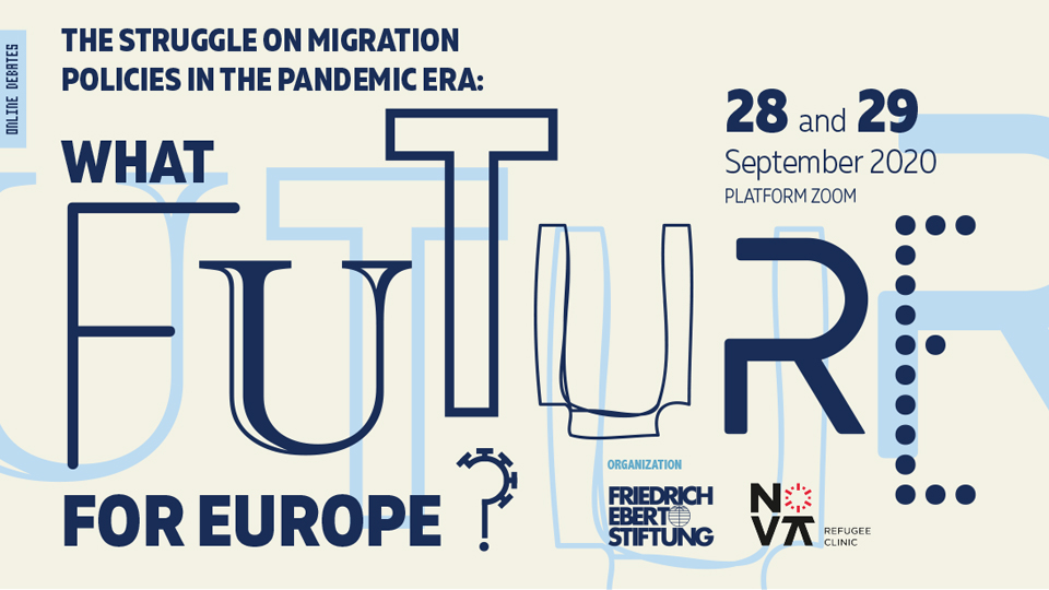 "Report of the online debates ""The struggle on migration policies in the pandemic era: What future for Europe?"", September 28 and 29"