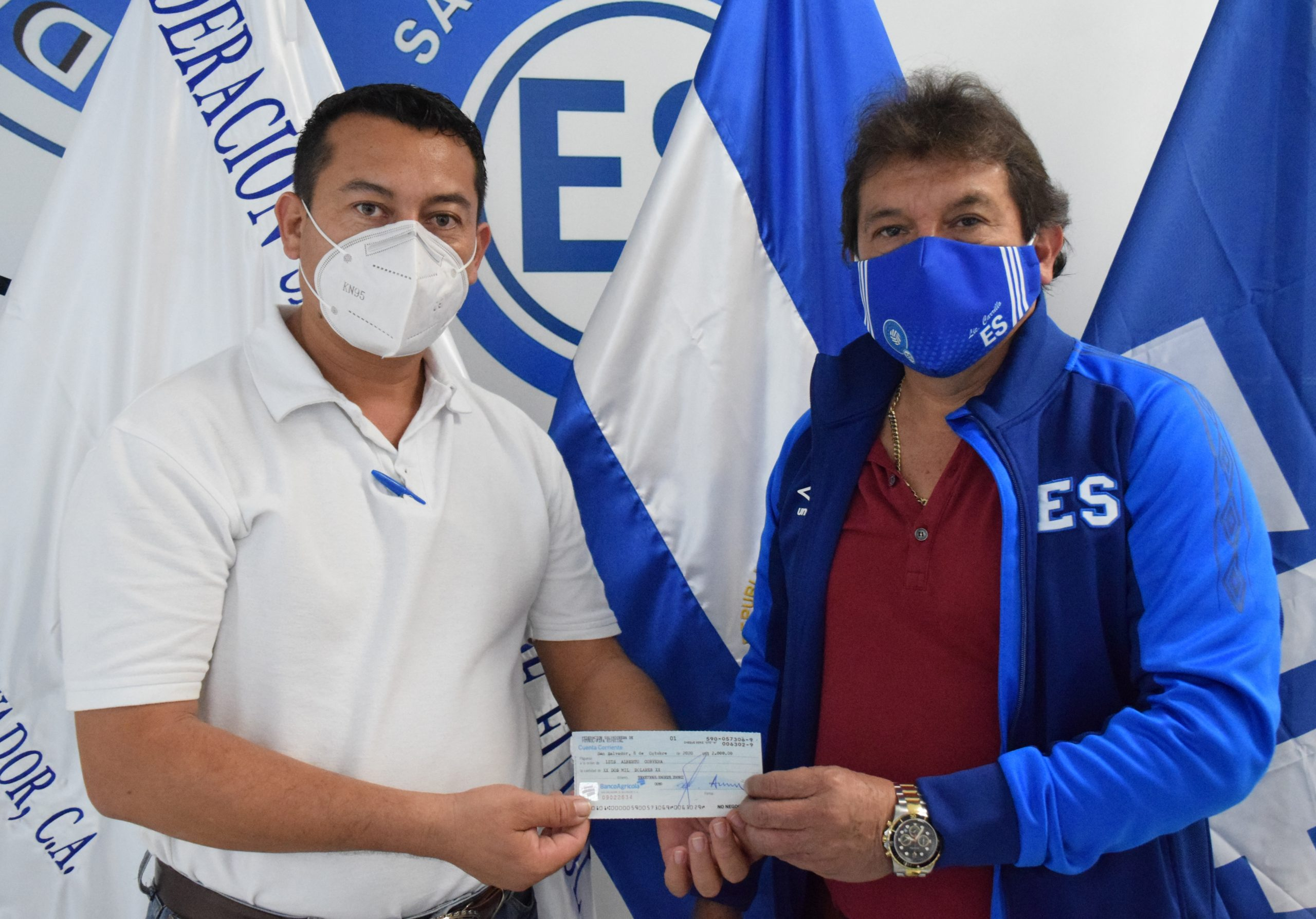 Señor Luis Corvera de Club Deportivo Atlético San Lorenzo, San Vicente