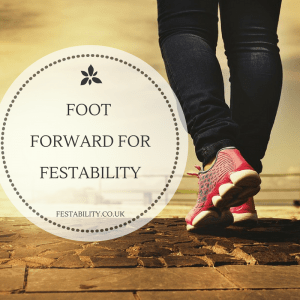 Foot Forward for Festability