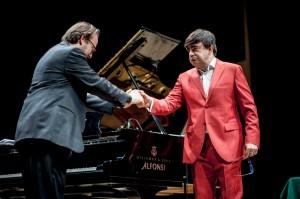 Elio con pianista Prosseda