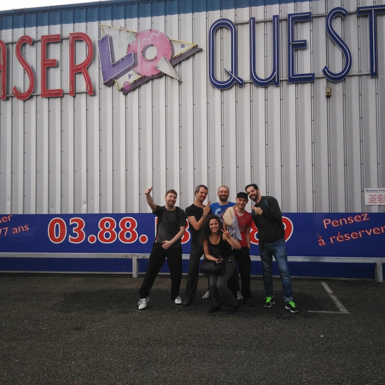 Sortie Laser Quest