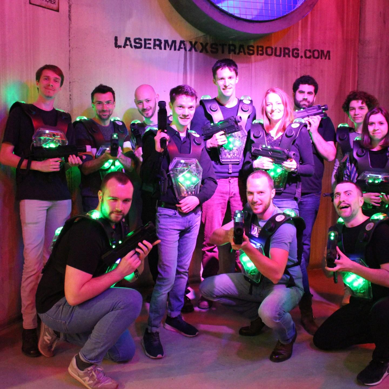 Soirée laser game
