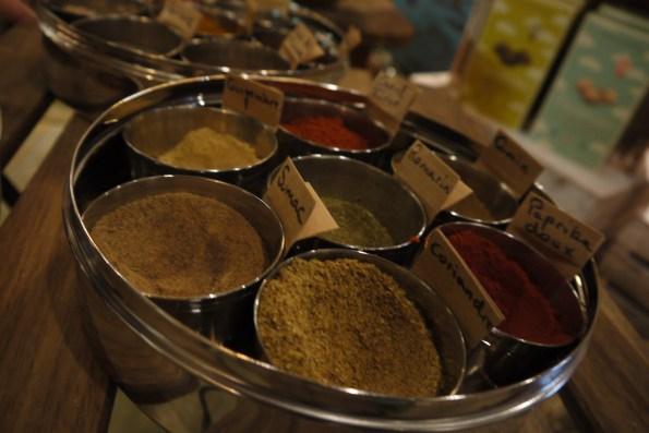 Fabrication de mélange d'épices