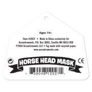 Festival Gadgets Pferde Maske Pferdemaske Verpackung hinten