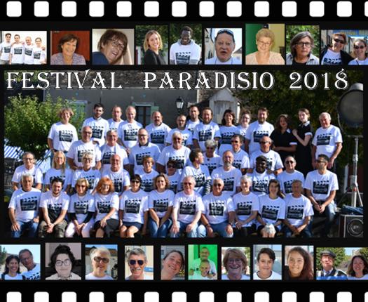 l'Equipe du Festival Paradisio 2018