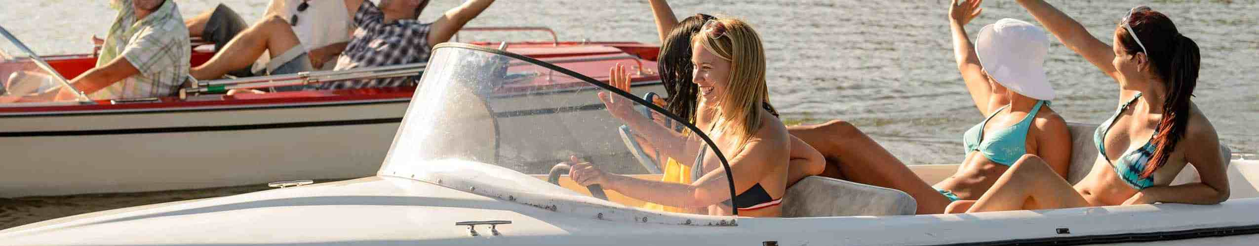 La Toretta Lake Resort And Spa Boating Fun