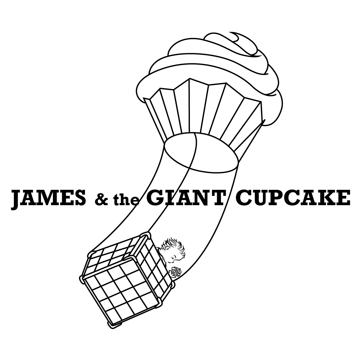 James & the Giant Cupcake
