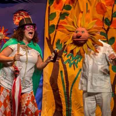 El XIII Festival Internacional de las Artes Escénicas de Calzada apuesta por el teatro familiar con 'Pedro de Valdivia' y 'Floribromeando'