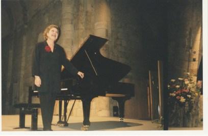 1999 : Brigitte Engerer, piano