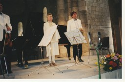1999 : Alice Ader , piano et Hervé Joulain, cor