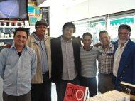 Carlos Ildemar Pérez, Cedhot Arias, Luis Perozo Cervantes, Jósbel Caraballo Lobo, Rey De Linares y Víctor Vielma Molina