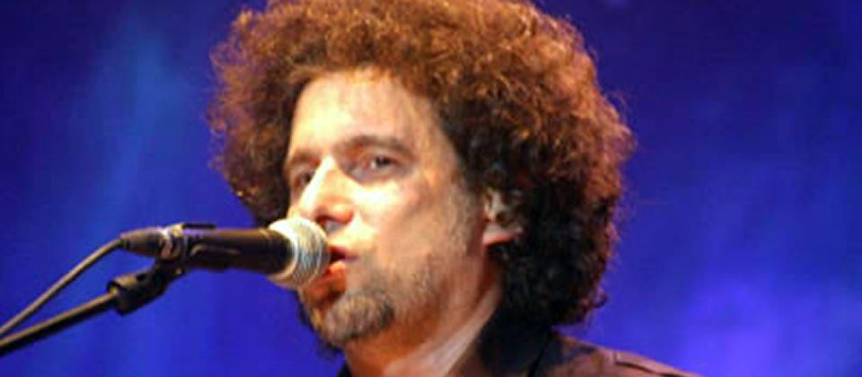 Andrés Calamaro y Ariel Rot en concierto