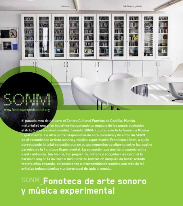 Fonoteca de Música Experimental y Arte Sonoro (SONM)