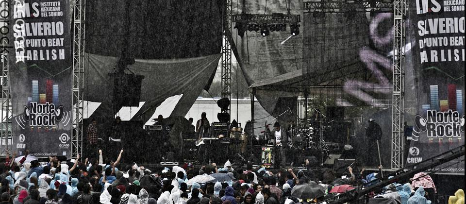 Pasada por agua y lodo, la heterogénea primera edición del festival Norte Rock fest tuvo en Silverio a su mayor valedor