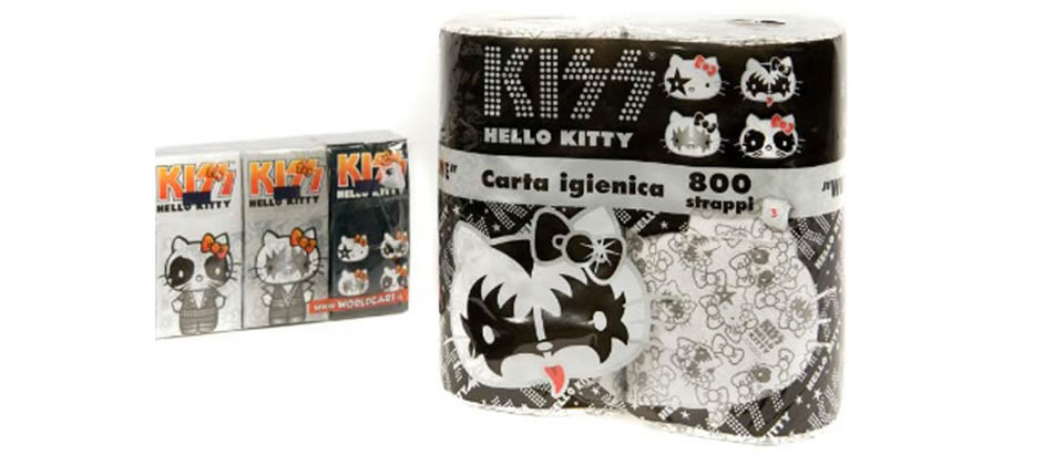 Ortos relucientes gracias a Hello Kitty y Kiss