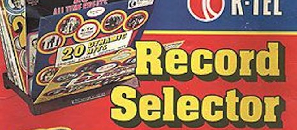 K-Tel record selector [Genios del merchandising]