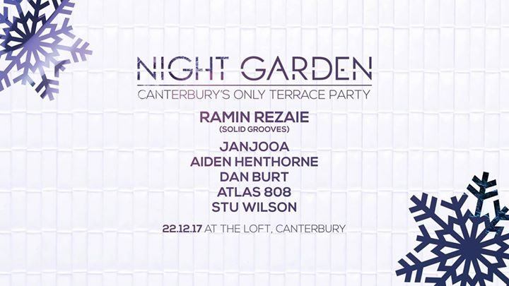 Night Garden [Fully Heated Terrace Party]