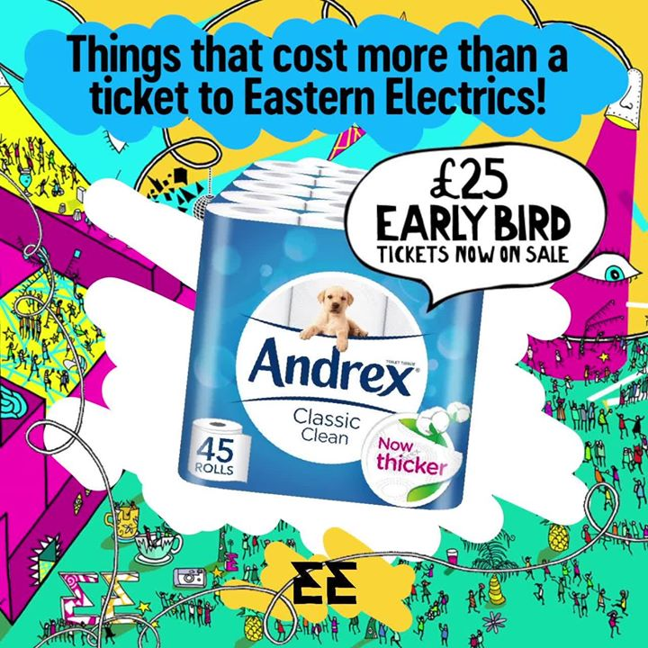 Tickets to Eastern Electrics Festival 2018 will be moving up in the New Year to ...
