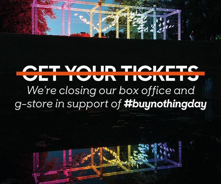 We've turned the Box Office and G-Store off for 24 hours in support of  #buynoth...