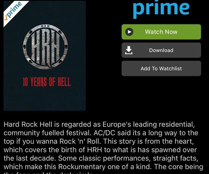 10 Years Of Hell now available to watch through Amazon Prime