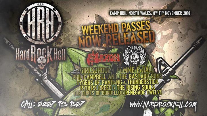 Whos's ready for HRHXII?!? Check out our firs announcement!...