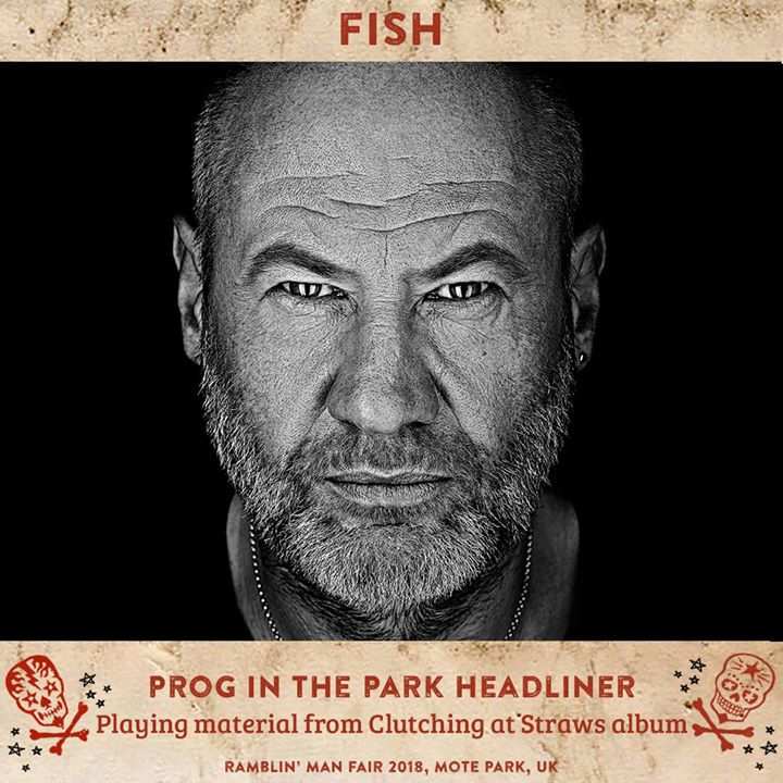 Next up playing Ramblin' Man 2018 and for 'Prog In The Park' we have......