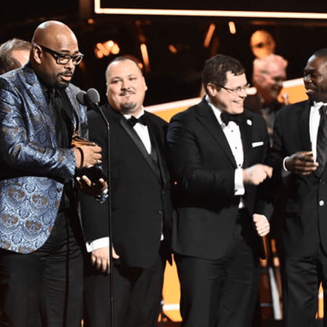 Christian McBride Big Band picked up their  #GRAMMYs award on Sunday...