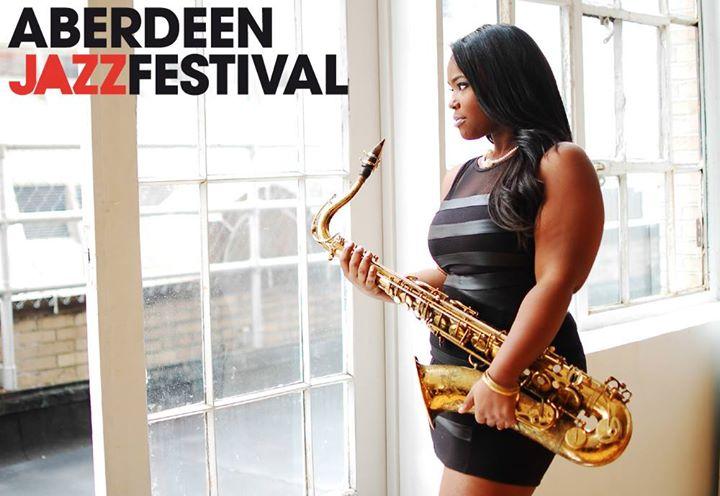 Camille Thurman - Aberdeen Jazz Festival