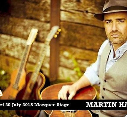 Friday sees Martin Harley join us with his acoustic roots and blues guitar on th...