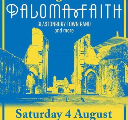 Tickets and camping (inc pre-erected tents) for this year's Glastonbury Abbey Ex...