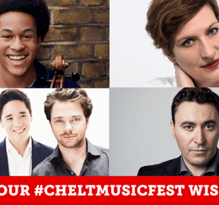Win up to £250 of @CheltMusicFest tickets...