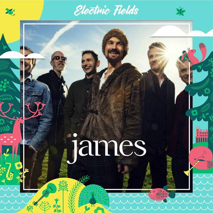 james headline Thursday night of Electric Fields this August, joined by RIDE, Ez...