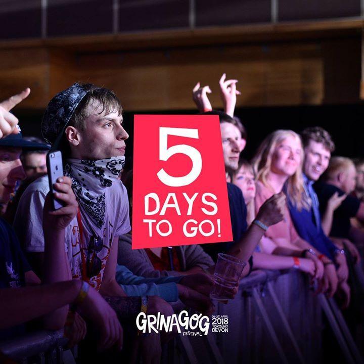 5 DAYS TO GO!...