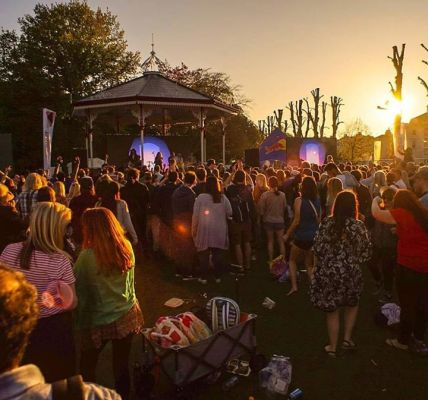 Day one of CSP In The Park was INCREDIBLE! Over 9000 of you came through and we ...