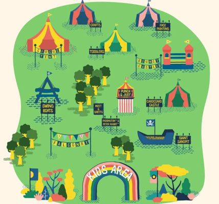 Presenting our Brand New Kids Garden Map! At just £32.50 for a day ticket, Commo...