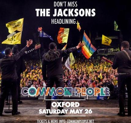 Do not miss The Jacksons headlining Saturday at Common People performing classic...