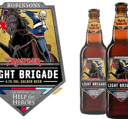 Ramblin' Beers! It's the charge of the 'Light Brigade' as Iron Maiden Beer's new...
