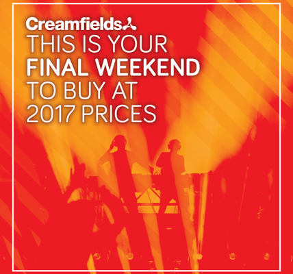 Now that the  #Creamfields2018 line-up has been announced, it's time to round up...