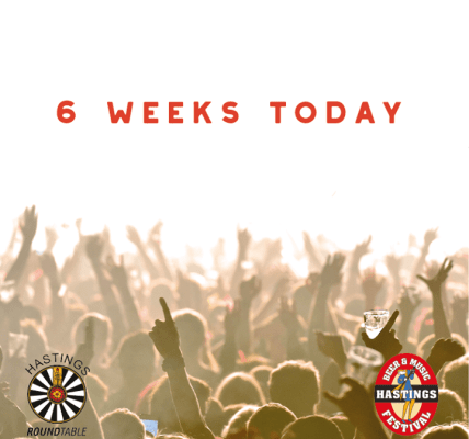 6 weeks today, the gates open! ...