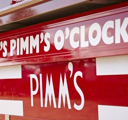 Suns out - PIMMS out! ...