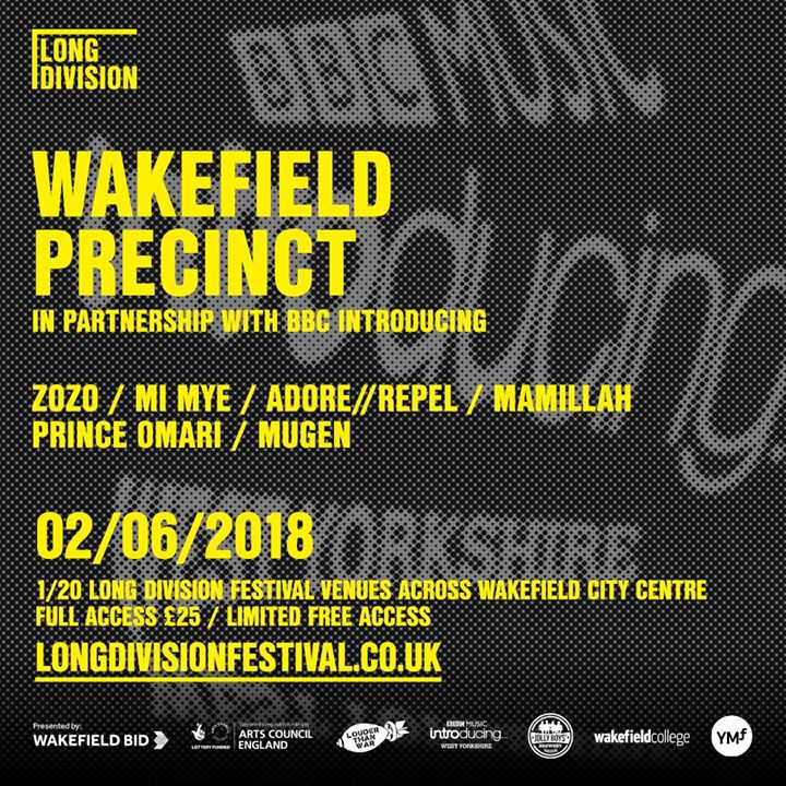 It's a first for Wakefield - we are thrilled to be bringing a BBC Introducing St...