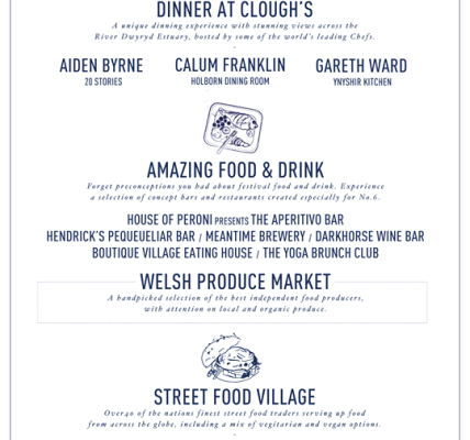 We're delighted to announce this year's Food & Drink offering, welcoming guest c...