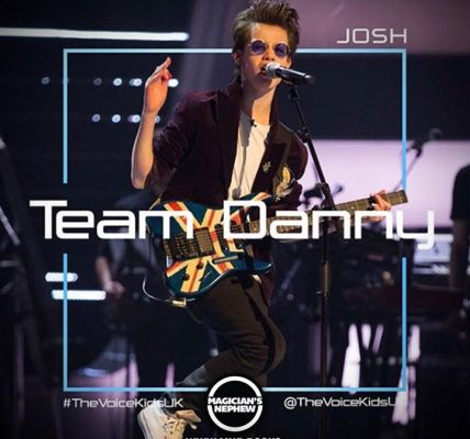 Josh... MAGICIANS NEPHEW... The VOICE 2018!Just wanted to say a huge thank you t...