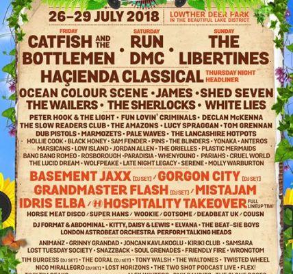 Kendal Calling 2018 Line-up