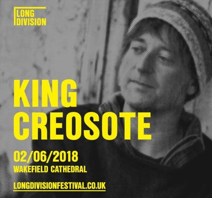 The wonderful King Creosote will be joining us on June 2nd for a wonderful show ...