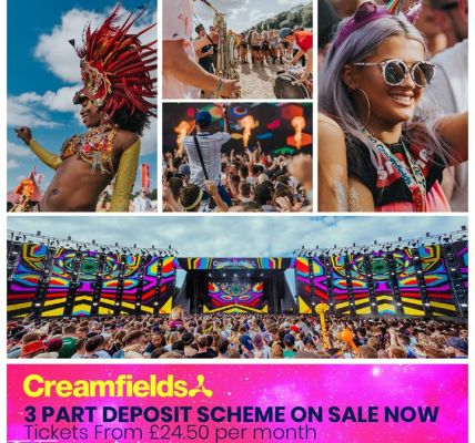 #Creamfields2018 is fast approaching and we don't want you to miss out, startin...